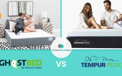 GhostBed vs. Tempur Pedic