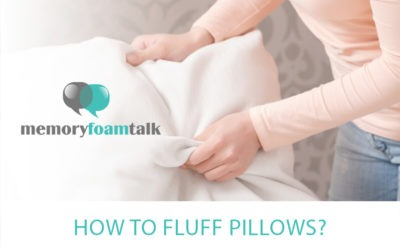 How To Fluff Pillows?