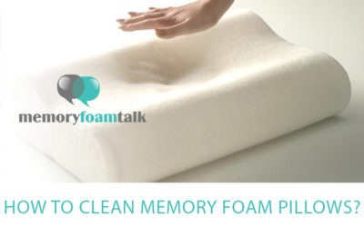 How To Clean Memory Foam Pillows?