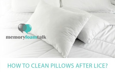 How To Clean Pillows after Lice?