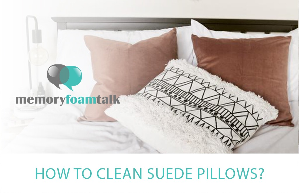 How To Clean Suede Pillows?