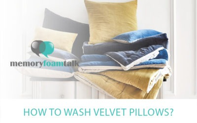 How To Wash Velvet Pillows?