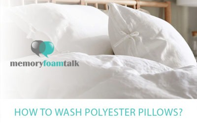 How To Wash Polyester Pillows?