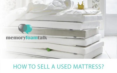 How to Sell a Used Mattress?