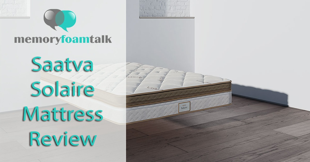 Saatva Solaire Mattress Review The Solaire Smart