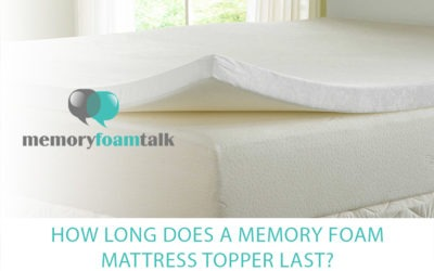 How Long Does a Memory Foam Mattress Topper Last?