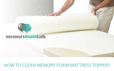 How to Clean Memory Foam Mattress Topper?