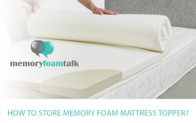 How to Store Memory Foam Mattress Topper?
