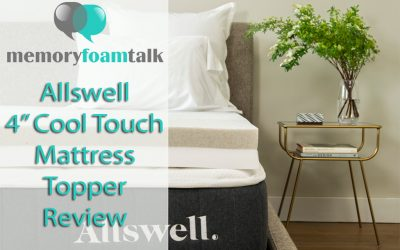 Allswell 4″ CoolTouch Mattress Topper Review