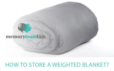 How to Store a Weighted Blanket?