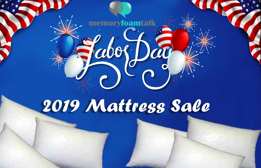 Labor Day Mattress Sale and Discount Coupons 2019