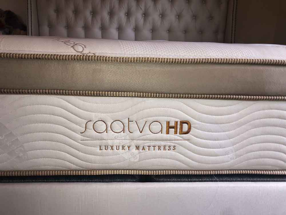 Saatva HD mattress profile