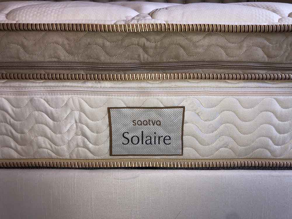 Saatva Soilaire mattress profile