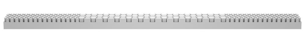 Molecule Triple Zone mattress topper - 3-zone layer