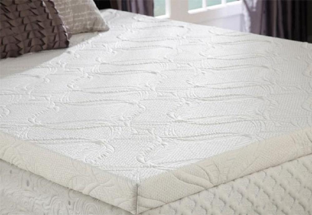 PlushBeds Cool Bliss Gel Memory Foam mattress topper