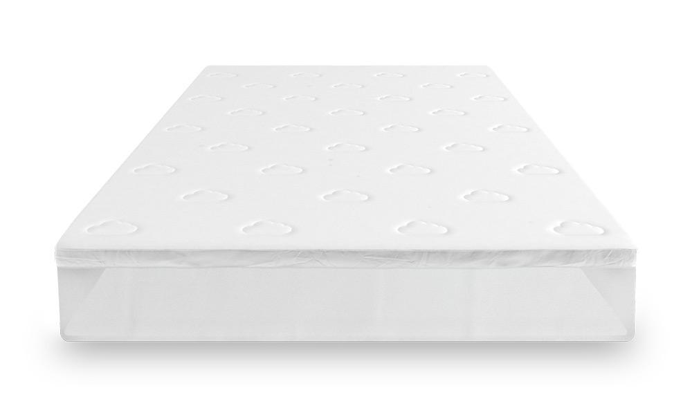 Puffy mattress topper
