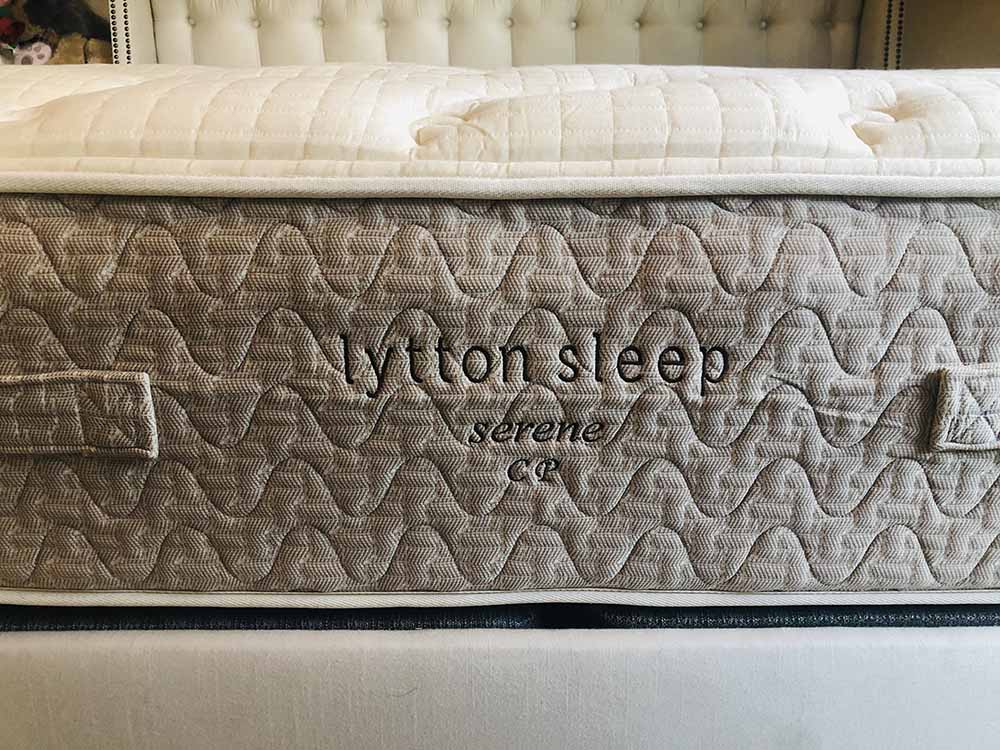 Lytton Sleep mattress profile view