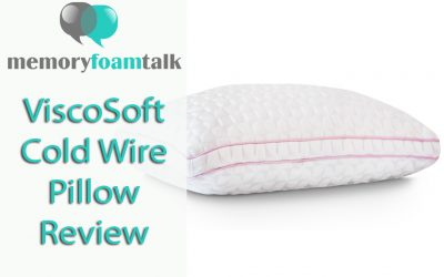 ViscoSoft Cold Wire Pillow Review