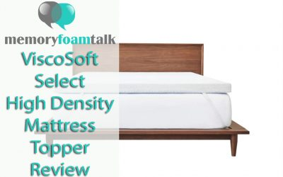 ViscoSoft Select High Density Mattress Topper Review