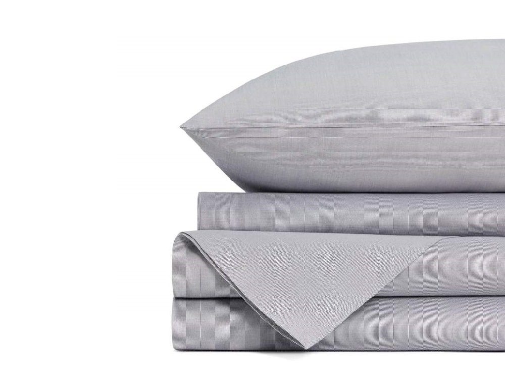 1771 Living Cotton Sheet Set - Farmhouse Navy