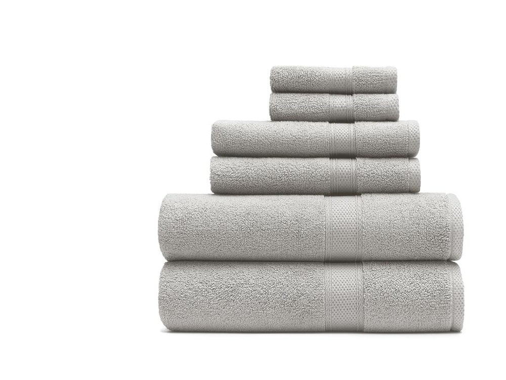1771 Living Essential Cotton Towels - Gray Beige
