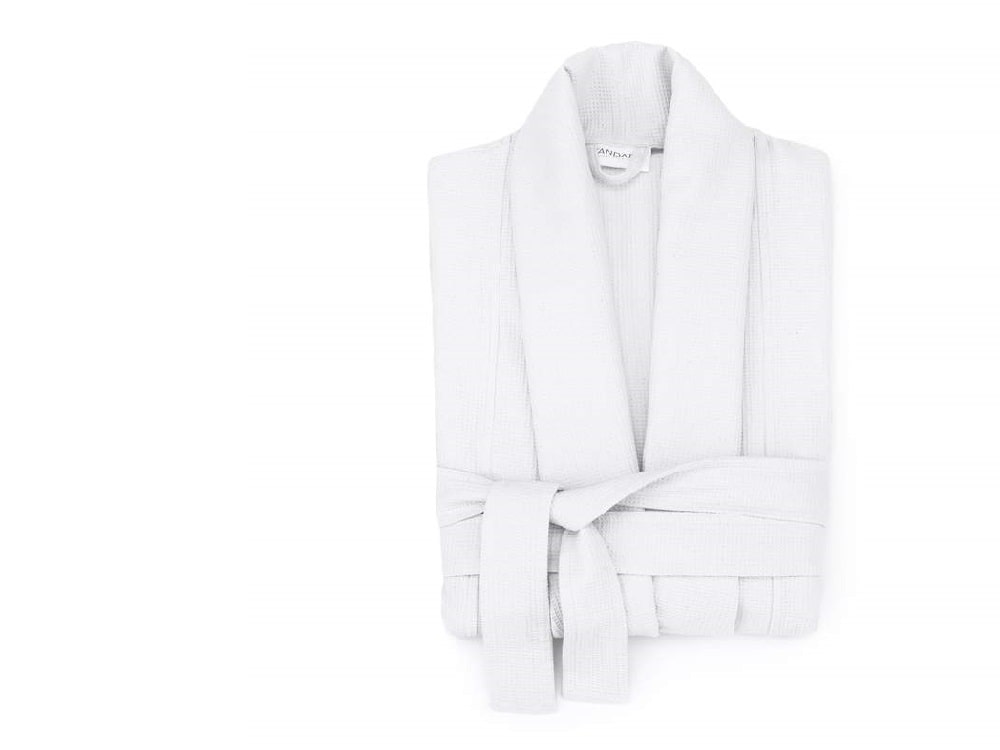 1771 Living Essential Cotton Waffle Robe