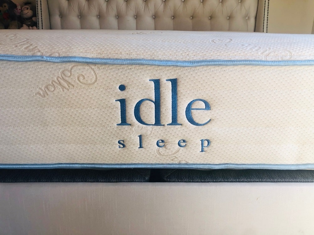 IDLE Sleep Natural Latex Hybrid mattress - profile