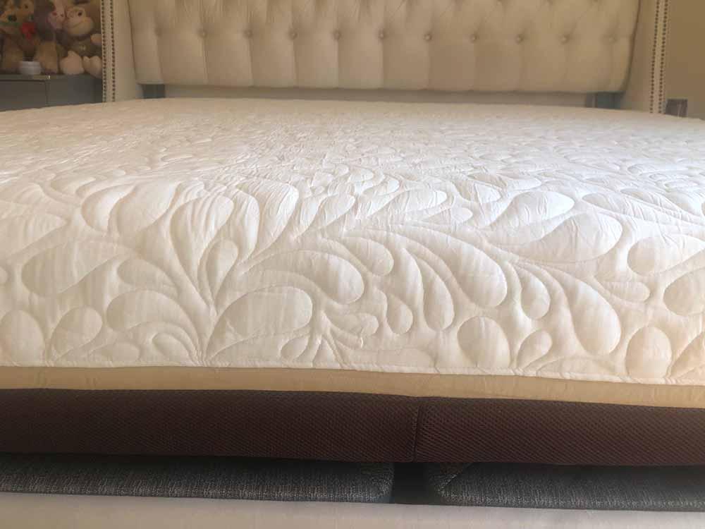 Live and Sleep Elite mattress - profile