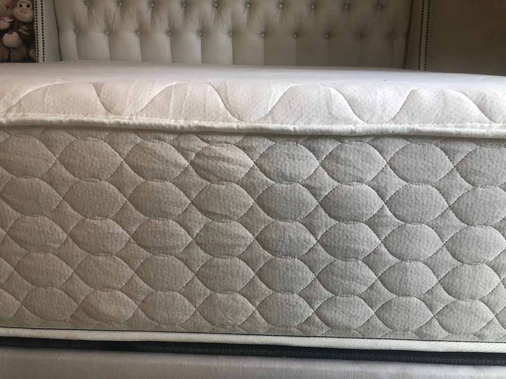 WinkBeds EcoCloud mattress - profile
