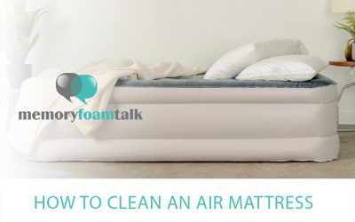 How to Clean an Air Mattress