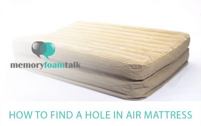 How to Find a Hole in Air Mattress