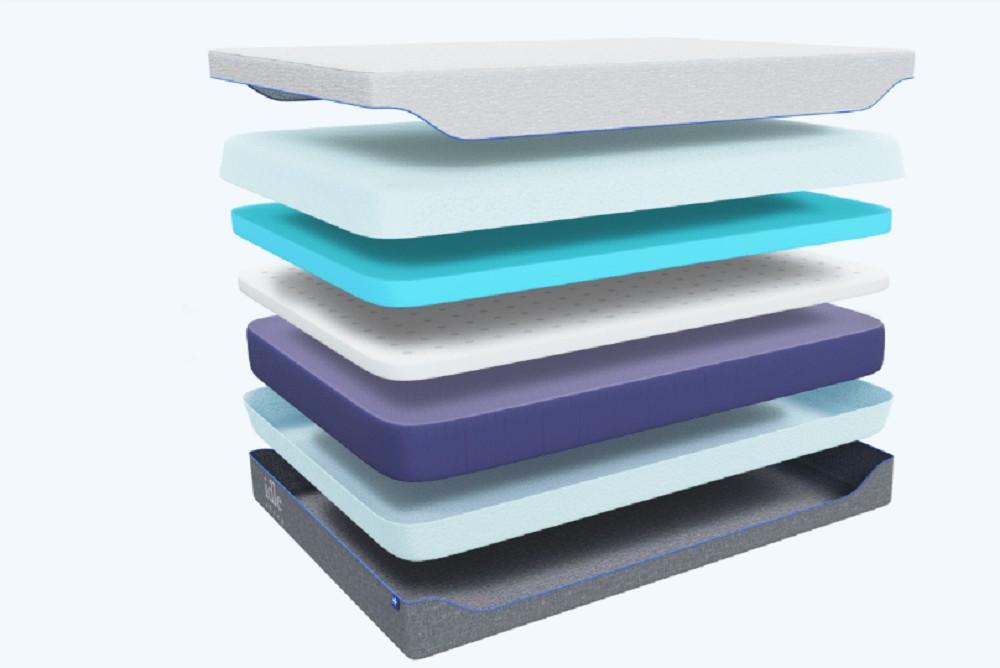 Idle Gel Foam mattress layers