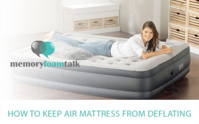How to Keep Air Mattress from Deflating