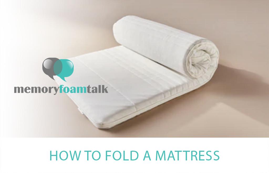 How to Fold a Mattress