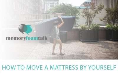 How to Move a Mattress by Yourself