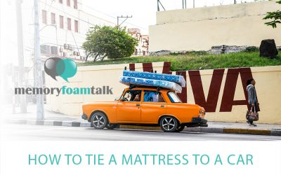 How to Tie a Mattress to a Car