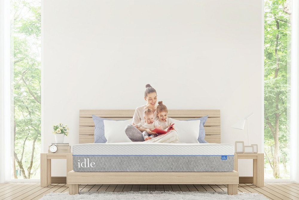 IDLE Gel Plush mattress