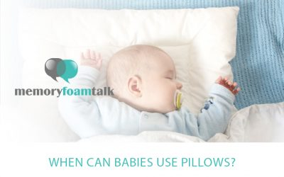 When Can Babies Use Pillows?