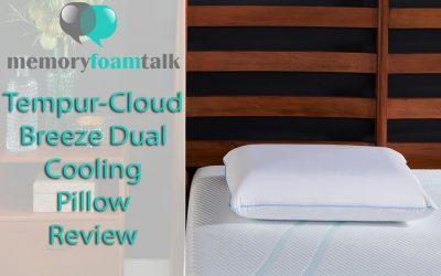 Tempur-Cloud Breeze Dual Cooling Pillow Review