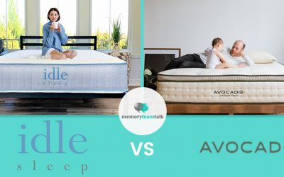 IDLE Sleep Hybrid vs. Avocado