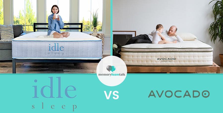 IDLE Sleep Hybrid vs. Avocado