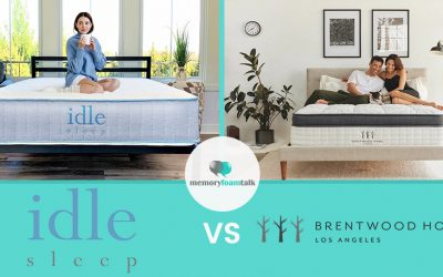 IDLE Sleep Hybrid vs. Brentwood Home Oceano