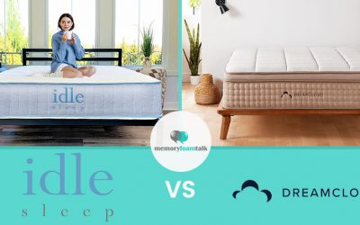IDLE Sleep Hybrid vs. DreamCloud Premier