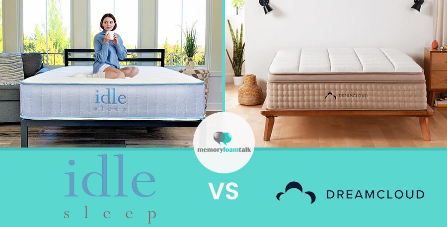 IDLE Sleep Hybrid vs. DreamCloud Premier
