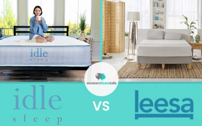 IDLE Sleep Hybrid vs. Leesa Hybrid
