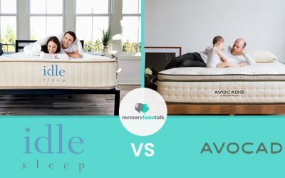 IDLE Sleep Natural Latex Hybrid vs. Avocado