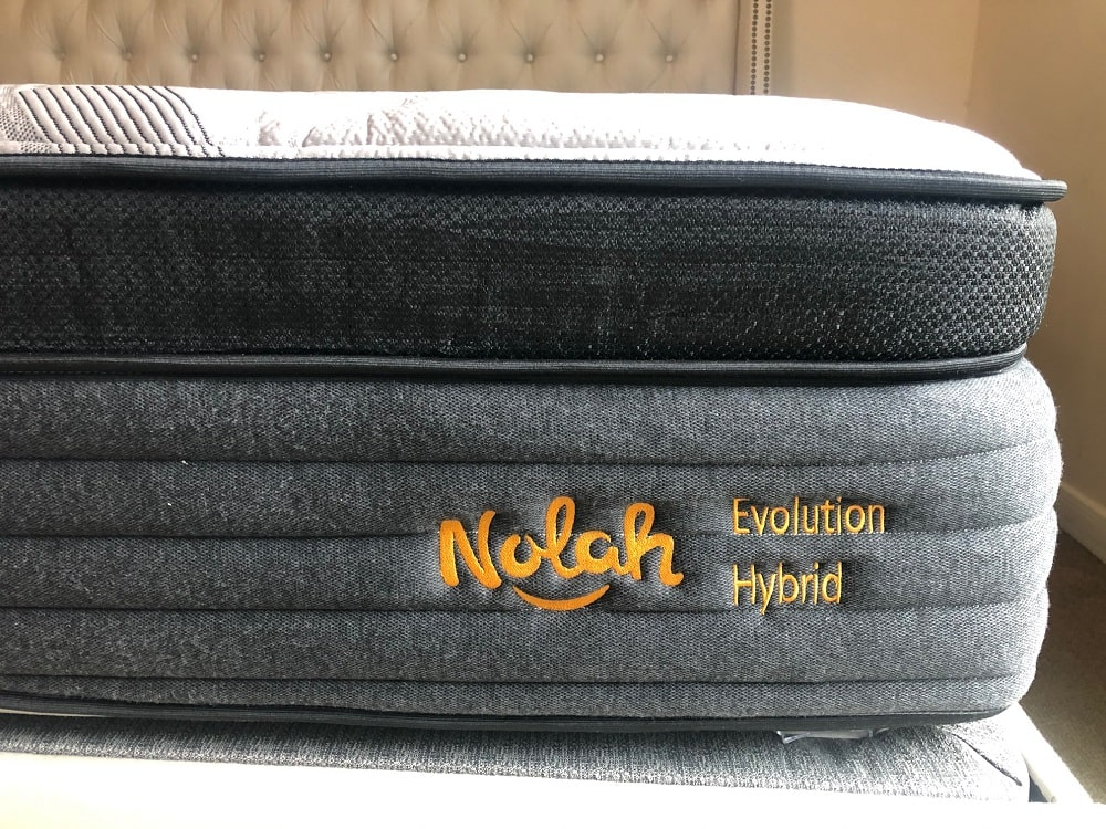 Nolah Evolution Hybrid mattress - profile