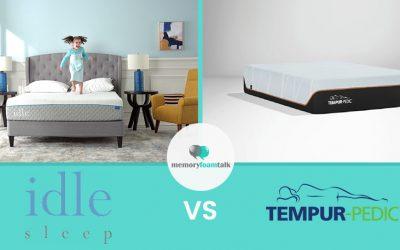 IDLE Sleep Gel Foam vs. Tempur Pedic