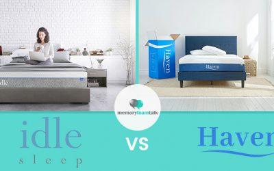 IDLE Sleep Gel Plush vs. Haven Premier