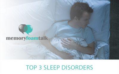 Top 3 Sleep Disorders